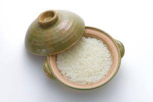 土鍋とご飯の写真素材 [FYI02822833]