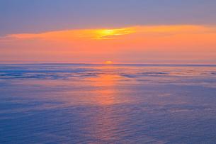 播磨灘夕景の写真素材 [FYI02823056]