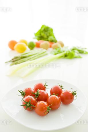 トマトと野菜の写真素材 [FYI02823219]