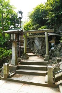 富士塚・品川神社の写真素材 [FYI02823255]