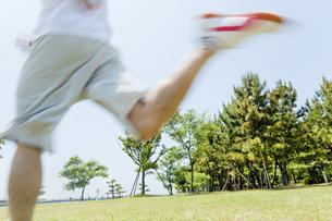走るアスリートの写真素材 [FYI02823449]
