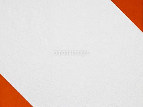 角に赤を配置した和風壁紙の写真素材 [FYI02823576]