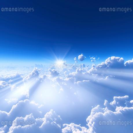 青空と雲海の写真素材 [FYI02823611]