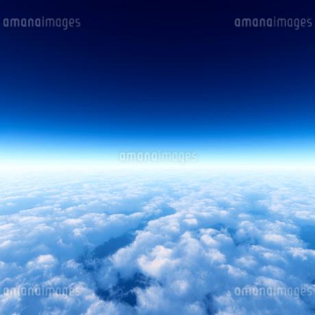青空と雲海の写真素材 [FYI02823740]