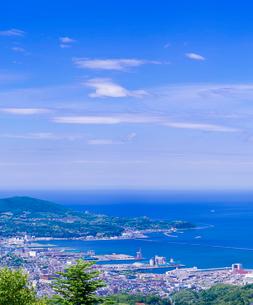小樽市街遠望 (毛無山展望所)の写真素材 [FYI02824176]