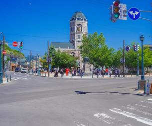 小樽市街点景 (メルヘン交差点)の写真素材 [FYI02824749]