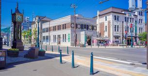 小樽市街点景 (メルヘン交差点)の写真素材 [FYI02824830]