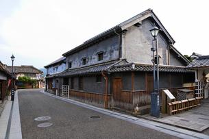 豆田町の町並みの写真素材 [FYI02825269]