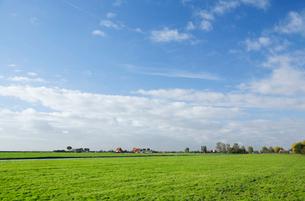 牧場と空の写真素材 [FYI02825373]