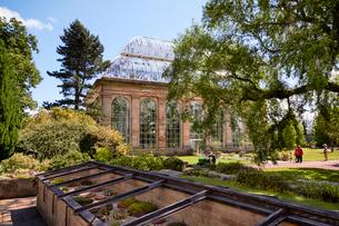エディンバラ王立植物園の温室の写真素材 [FYI02825403]