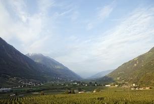 valley view, Kastelbell-Tschars, Vinschgauの写真素材 [FYI02825546]