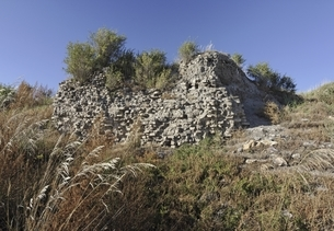 remains of a wall, old Mongol capital, Yuan Shangduの写真素材 [FYI02825551]