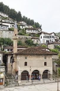 Bachelor's Mosque', Berat, Albaniaの写真素材 [FYI02825769]