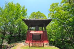 上田城の平和の鐘の写真素材 [FYI02826149]