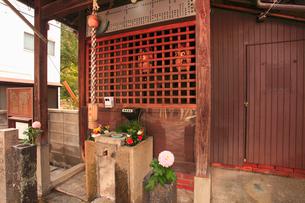 樋之尻口地蔵堂の写真素材 [FYI02826221]