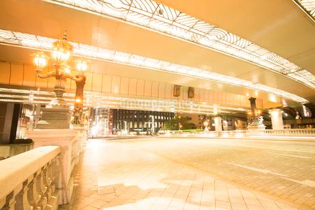 東京日本橋ライトアップの写真素材 [FYI02826309]