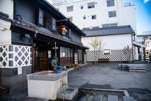 松本市 城下町中町通りの写真素材 [FYI02826607]