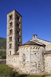 Sant Climent Church, Taull, Vall de Boi, Cataloniaの写真素材 [FYI02826665]