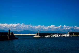 入船漁港の写真素材 [FYI02826838]