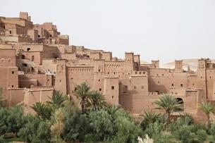 kasbah' (fortified houses)の写真素材 [FYI02826839]