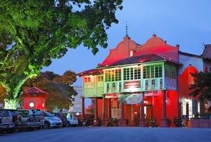 Stadthuys, Dutch Square, Malacca, Malaysiaの写真素材 [FYI02826962]