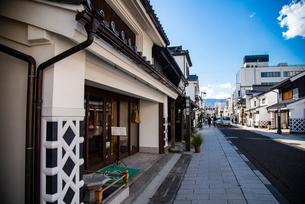 松本市 城下町中町通りの写真素材 [FYI02827148]