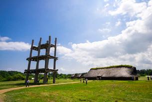 三内丸山遺跡の写真素材 [FYI02827363]