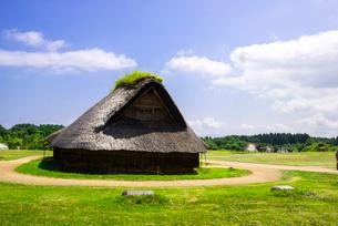 三内丸山遺跡の写真素材 [FYI02827760]
