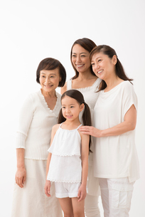 四世代家族の写真素材 [FYI02829623]