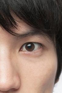 日本人男性の顔の写真素材 [FYI02830500]