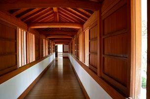 姫路城西の丸櫓・長局百間廊下の写真素材 [FYI02831708]