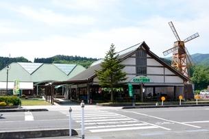 新緑,道の駅,蒜山高原,とれたて野菜市の写真素材 [FYI02831732]