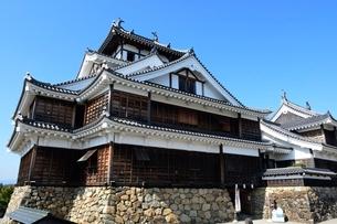 福知山城,大天守と小天守の写真素材 [FYI02831794]
