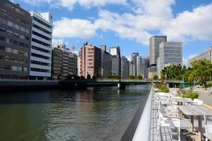 大阪,土佐堀川と中之島公園の写真素材 [FYI02831873]