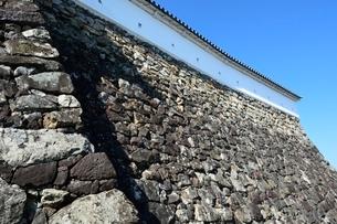 福知山城石垣の写真素材 [FYI02831895]