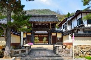 竹田城 寺町通り 常光寺の写真素材 [FYI02831959]
