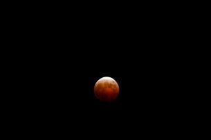 皆既月食の写真素材 [FYI02832590]