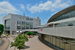 町田市立総合体育館の写真素材 [FYI02832648]