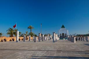 ムハンマド5世廟とモスク跡の写真素材 [FYI02832735]
