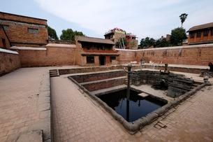 王宮内の王の沐浴場の写真素材 [FYI02832864]