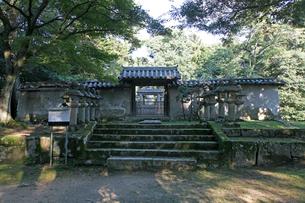 松平直基の墓所の写真素材 [FYI02832893]