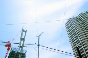 都市の空の写真素材 [FYI02832948]