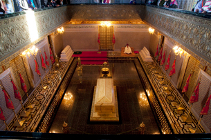 ムハンマド5世廟 ムハンマド五世の石棺の写真素材 [FYI02833280]