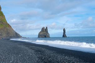 ブラックサンドビーチの写真素材 [FYI02833300]