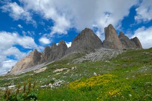 ドロミテの風景の写真素材 [FYI02833433]