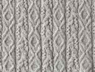 グレーのウールの布の写真素材 [FYI02833461]