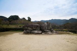 石舞台古墳の写真素材 [FYI02833482]