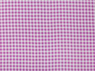 むらさきと白のチェックの布の写真素材 [FYI02833704]