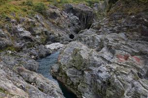 飛騨川の飛水峡の写真素材 [FYI02833784]