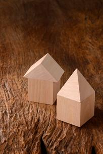 木の家の写真素材 [FYI02833850]